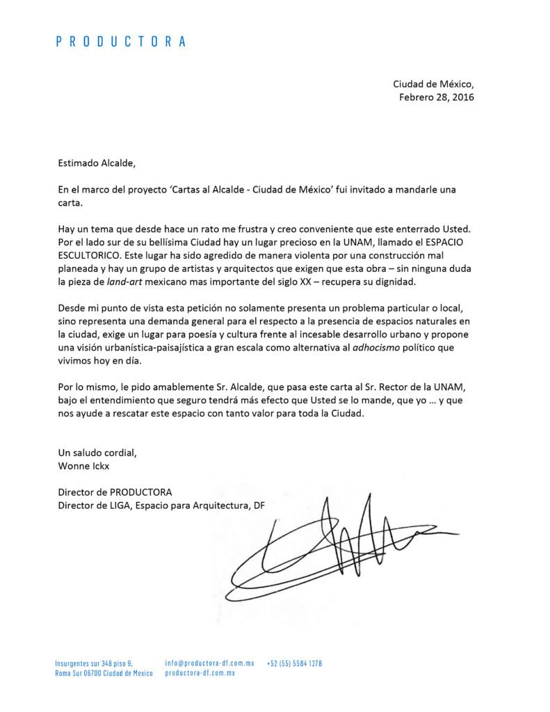 Microsoft Word - Carta al Alcalde - Wonne Ickx.docx
