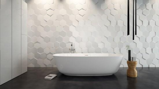 Azulejos 3d para baños