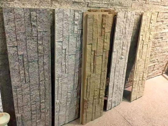 Ideas de decoración de paredes con paneles 3d - estilo fachaleta