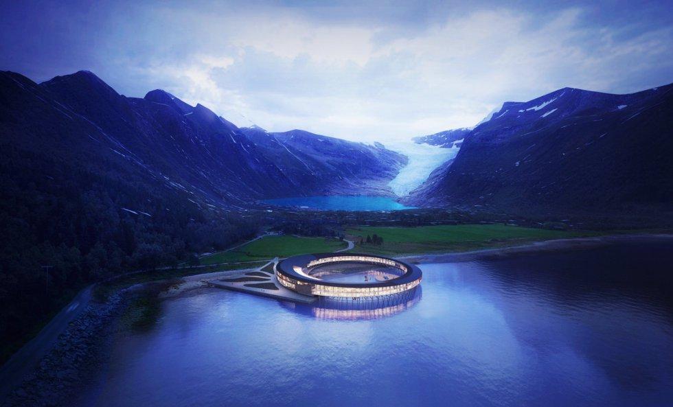 El primer hotel del mundo que genera más energía de la que consume