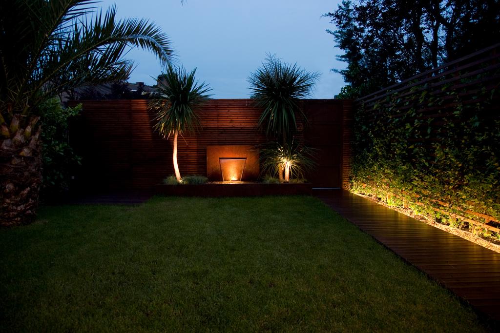 Iluminacion De Jardines Fotos