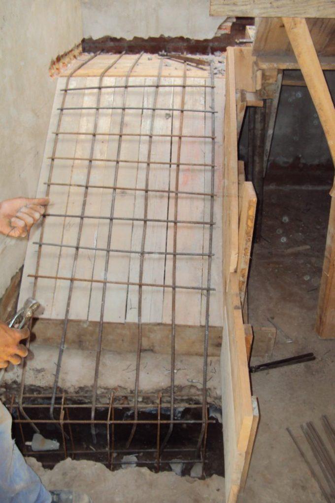 escaleras de dos tramos