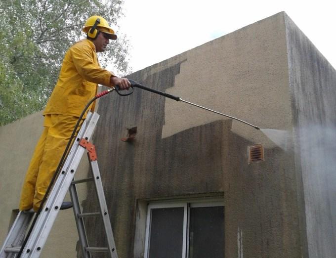 cómo pintar paredes exteriores