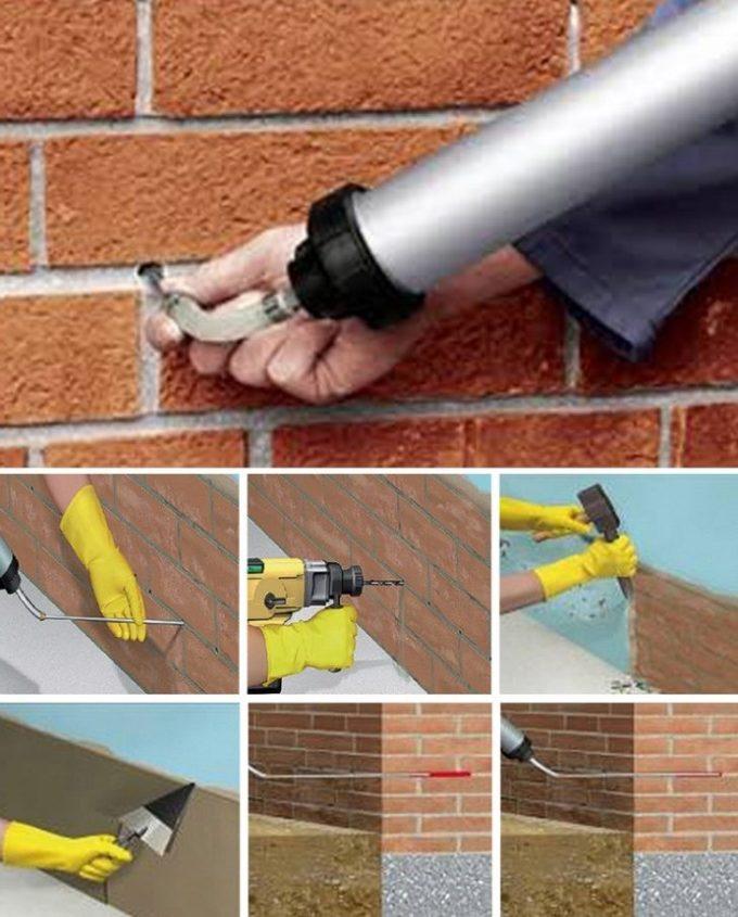 eliminar la humedad de las paredes