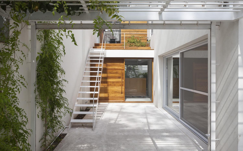 10 patios para 10 casas
