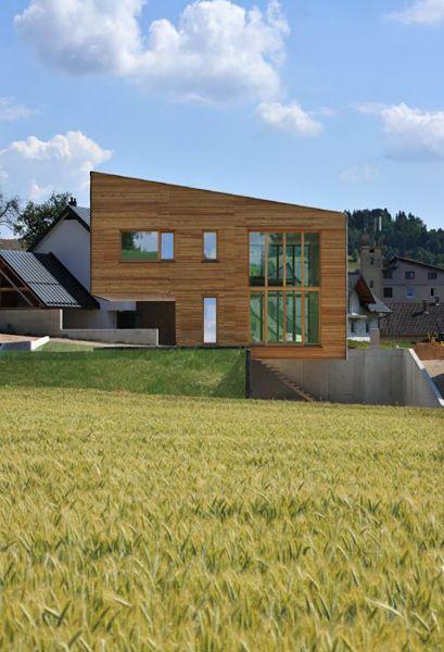 arquitectura con madera CLT_Single Family House