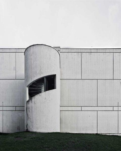 arquitectura Marcel Breuer Flaine fotografías Valentin Jeck exterior escaleras
