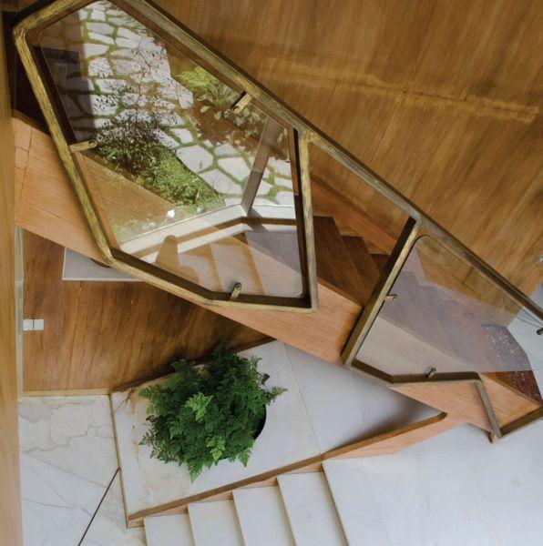 Arquitectura_Villa Planchart _G.Ponti -vista comunicación vertical escalera