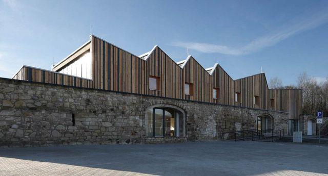 Tecnología de la madera: arquitectura con CLT.