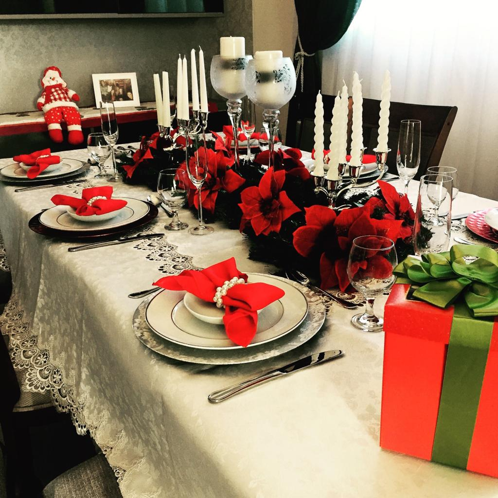 Como decorar a mesa para o Natal: dicas e sugestões para você se inspirar