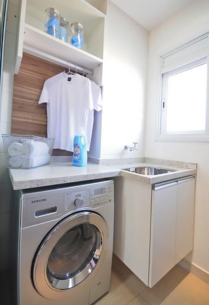 Inspirao para lavanderias de apartamentos  Arquitetura