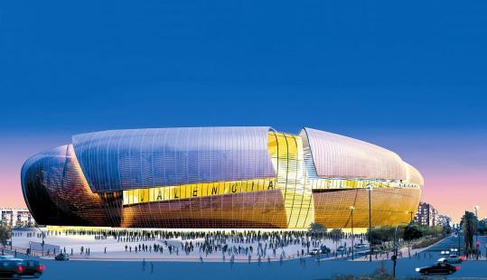 Estadio Valencia CF