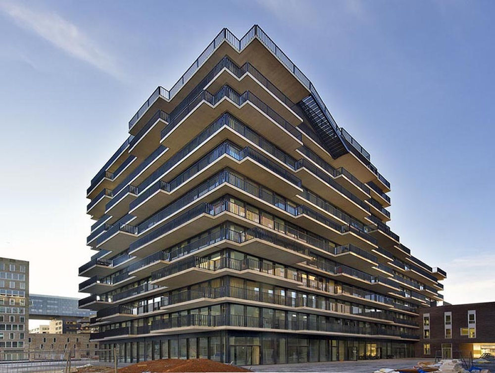 Westerdok Apartment Building - MVRDV