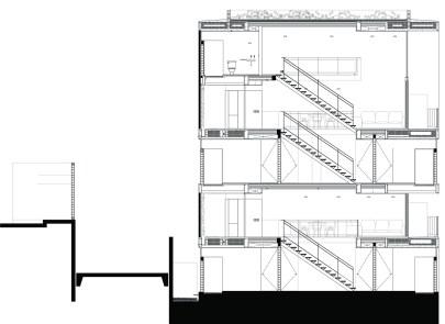 Corte Transversal Edificio