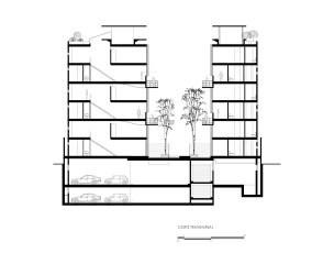 Monte Elbruz – Garduño Arquitectos - Corte