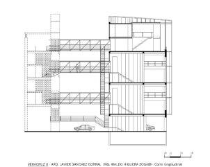 Veracruz II - Corte Longitudinal