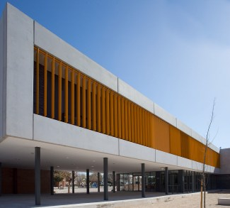 Aulario en IES Tierno Galván - virai arquitectos