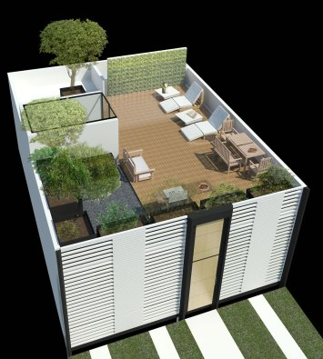Social Green House - Darkitectura