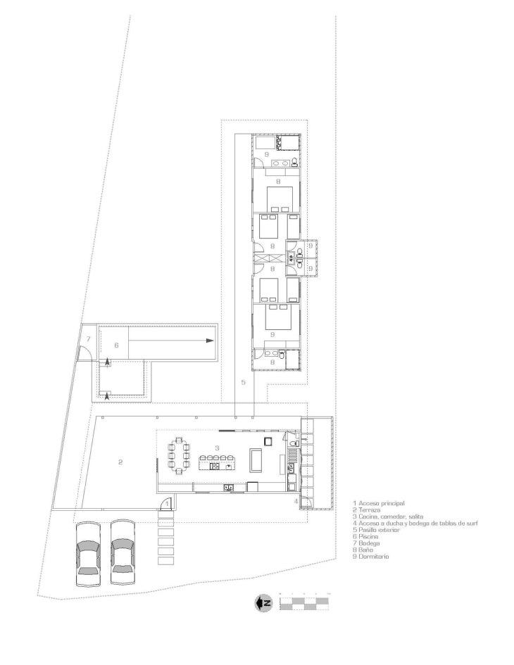 Casa Jardín del Mar - Salagnac Arquitectos