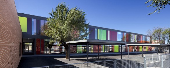 St. Exupéry – Liceo Francés - Flint Archicture + Argola Arquitectos