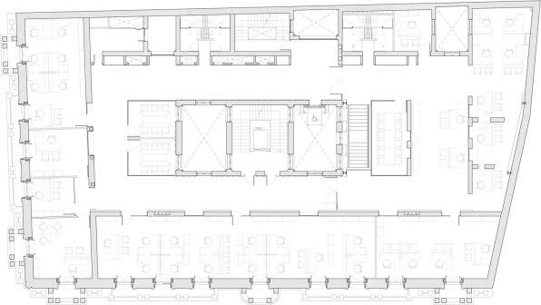 Rehabilitación del Colegio Oficial de Aparejadores y Arquitectos Técnicos de Madrid - Díaz y Díaz Arquitectos + Naiara Montero