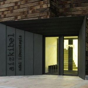 Ampliación Biblioteca Aizkibel - estudio beldarrain