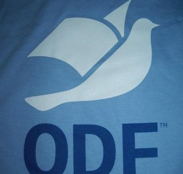 O ODF continua muito bem, obrigado