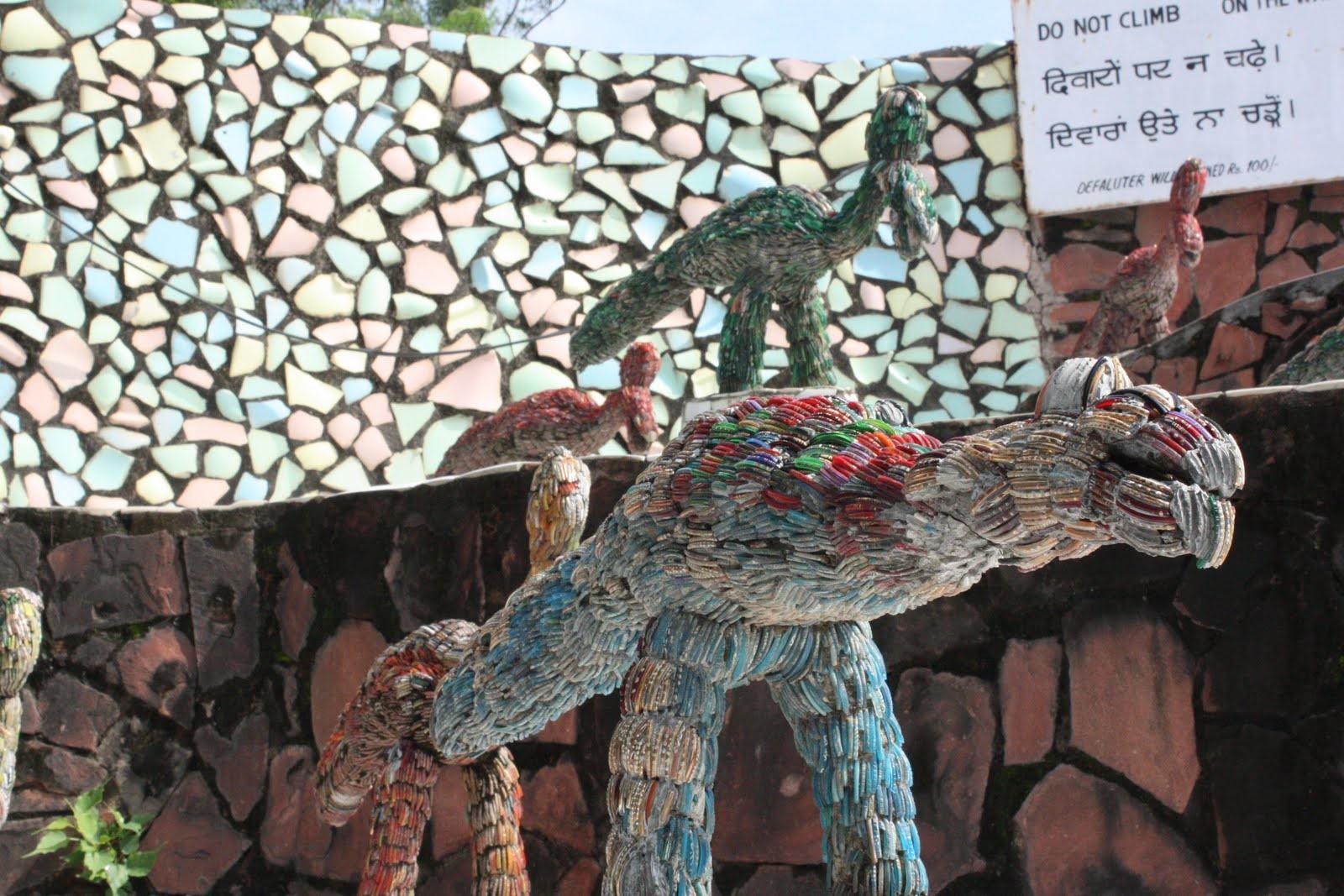 نتيجة بحث الصور عن حديقة الصخرة من شانديغار، الهند