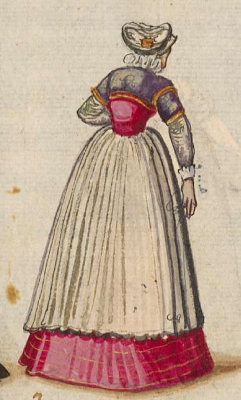 after 1575, Cologne. Fig. 2, ill. 54, Kostüme und Sittenbilder des 16. Jahrhunderts [...] BSB Cod.icon. 361