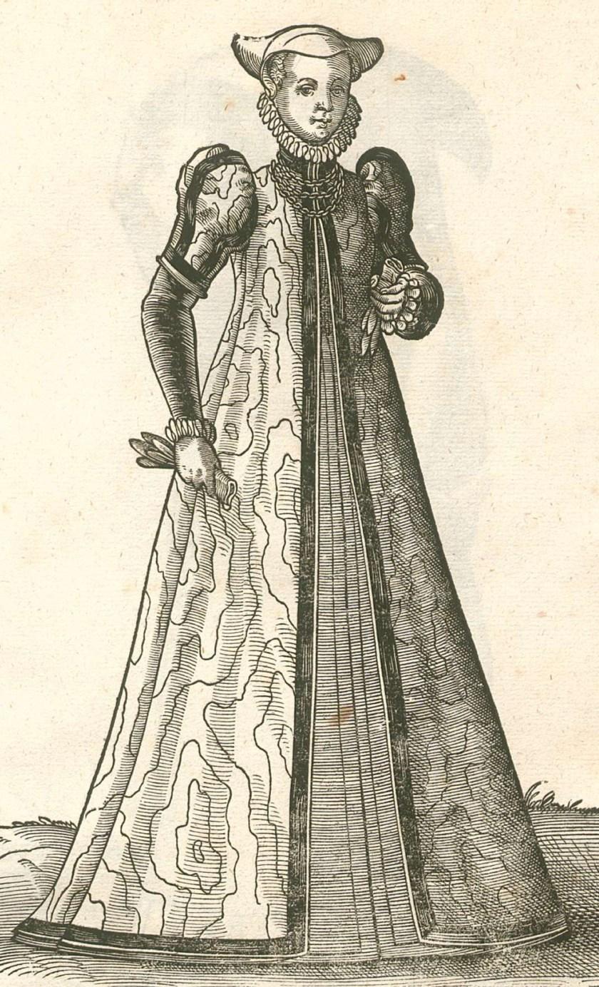 1577 Cologne, noble. LXXIX Habitus praecipuorum populorum, Hans Weigel. Archive.org, Bavarian State Library