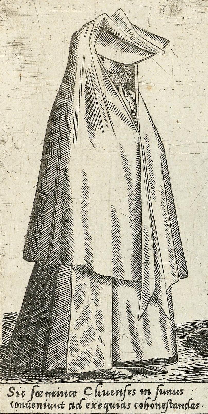 1581 Cleves. Fig. 1, page 18, Omnium pene Europae, Asiae, Aphricae, Americae gentium habitus [...] de Bruyn. Rijsmuseum BI-1895-3811