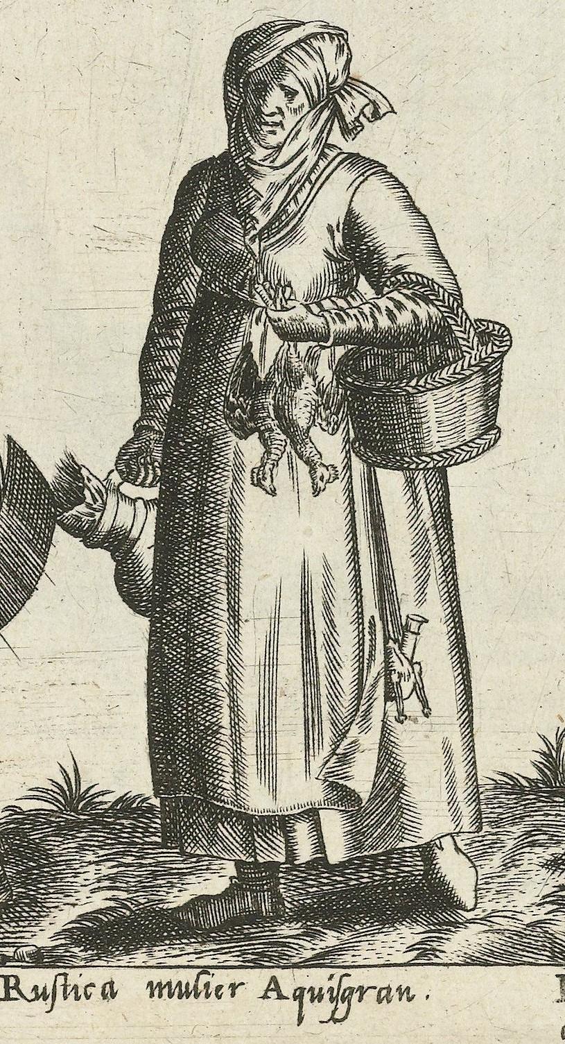 1581 Aachen, rural. Fig. 10, page 18, Omnium pene Europae, Asiae, Aphricae, Americae gentium habitus [...] de Bruyn. Rijsmuseum BI-1895-3811