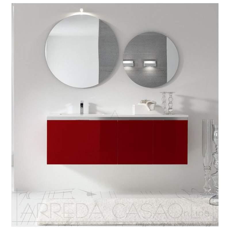 II Mobile Bagno sospeso rosso prezzo web Go01  1000