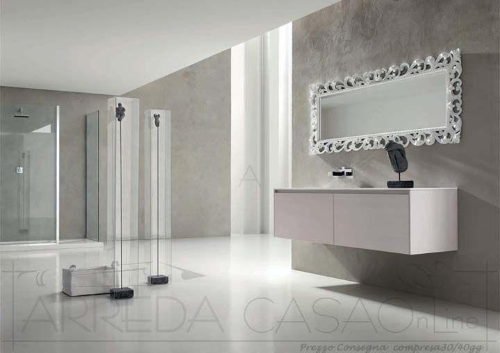 Mobile Arredo Bagno moderno specchio classico Esc18  eBay