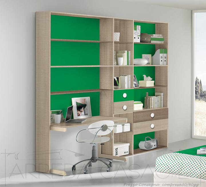 II Libreria per cameretta bambini Amelia GT0102LIB  Moderne Girotondo  Prezzi Offerte Sconti
