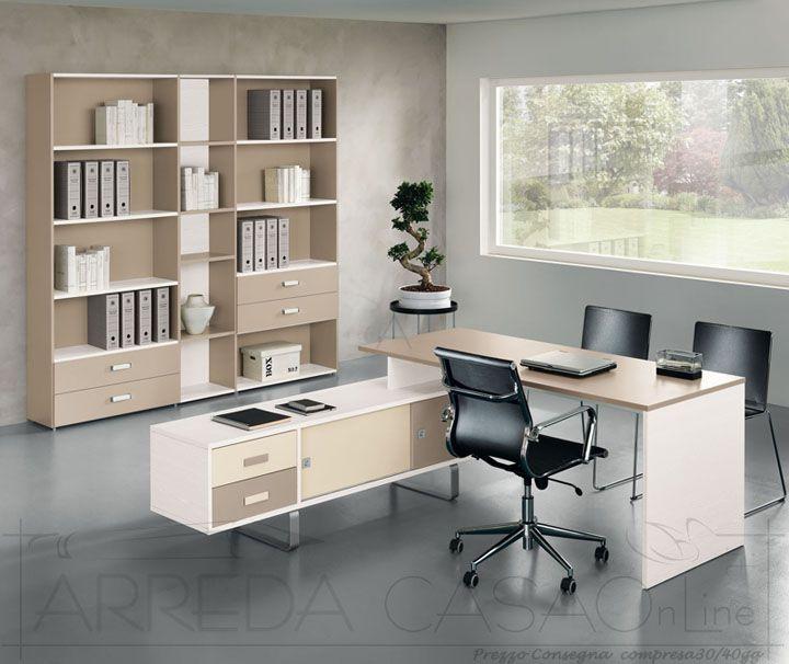 II Mobili per ufficio componibili scrivania libreria