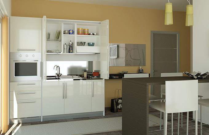Cucine Monoblocco e Cucine a Scomparsa  ARREDACLICK