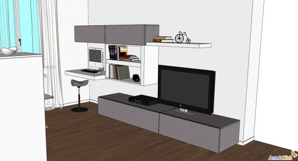 Idee  Ricavare un angolo computer in soggiorno  ARREDACLICK
