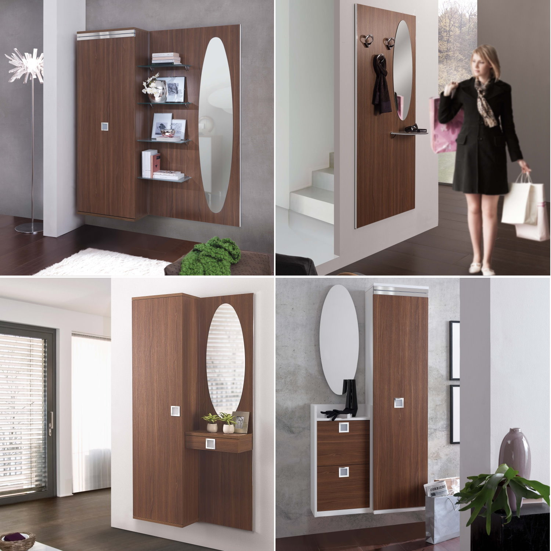 ARREDACLICK BLOG  Mobili ingresso in legno noce una scelta calda e funzionale  ARREDACLICK
