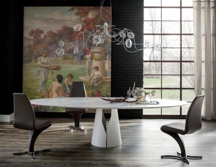 Idee  Tavolo da pranzo resistente e pratico 5 i tavoli in marmo  ARREDACLICK
