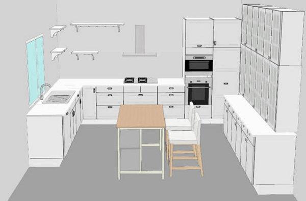Cucina Ikea planner come usarlo