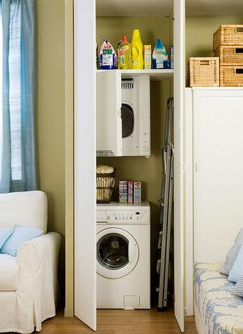 4 idee per organizzare lavanderia e ripostiglio