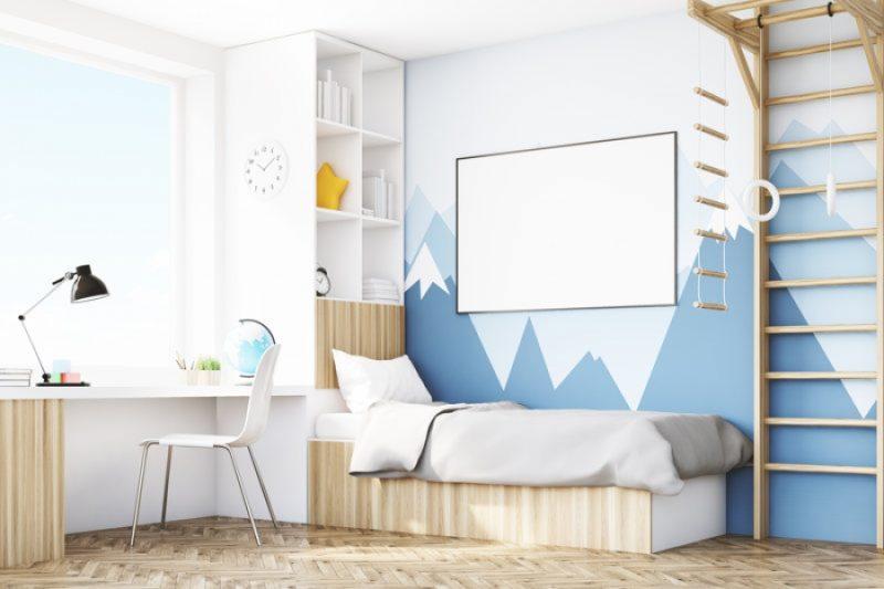 Disegni da parete per camerette : Spunti E Idee Per Decorare Le Pareti Della Cameretta Arredamenti Bleve