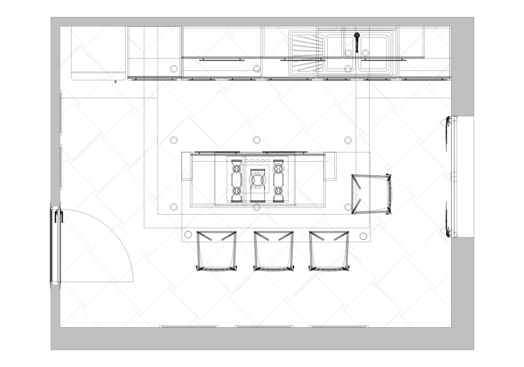 Progetti di cucine con isola idee per la progettazione for Selezione arredamenti verona