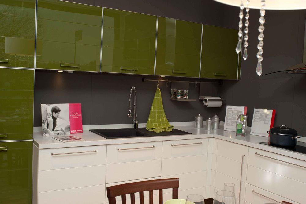 Occasione Cucina Scavolini modello RainbowCrystal