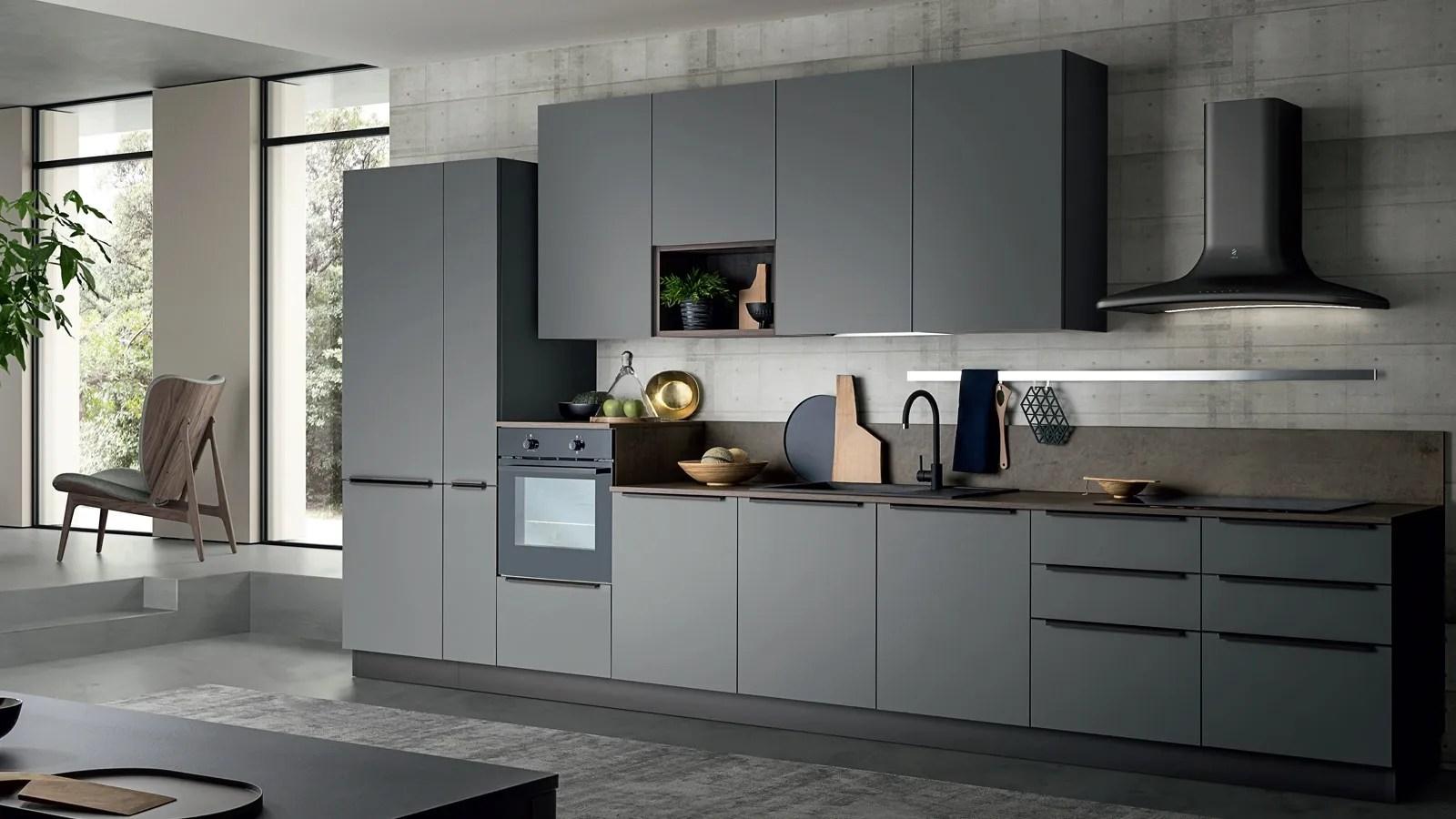 Tutti i modelli cucina, sia classici che moderni, prevedono delle soluzioni living da costruire attorno ai desideri di chi abita la casa. Cucina Moderna In Pet Easy 008 Di Ar Due