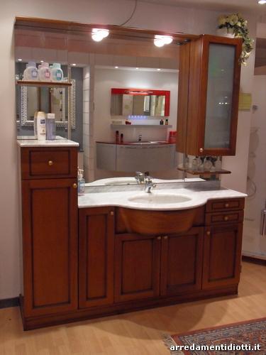 Mobile bagno classico in legno Country  DIOTTI AF