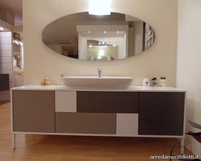 Bagno moderno B201 in appoggio  DIOTTI AF Arredamenti