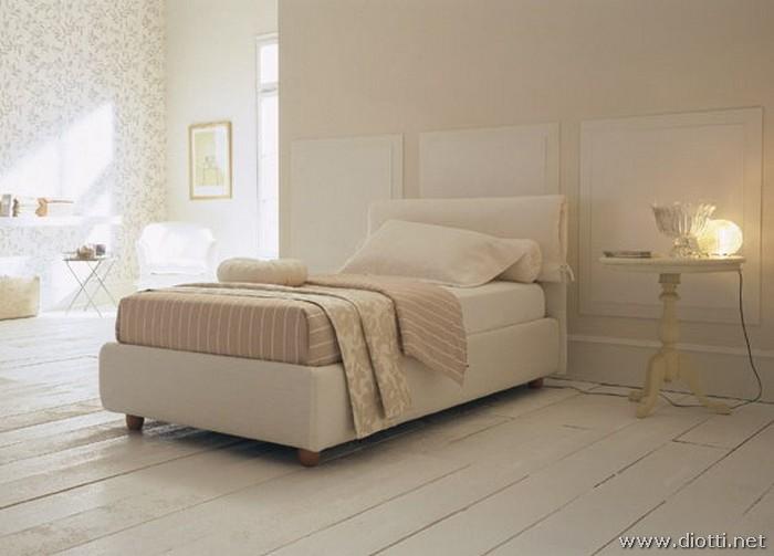 Vivian tessuto letto rivestito  DIOTTI AF Arredamenti