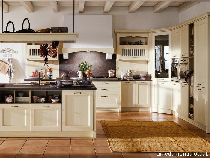 Cucina country classica Asolo  DIOTTI AF Arredamenti